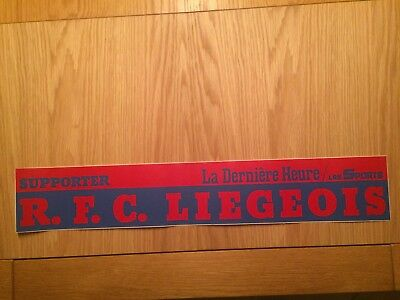 Autocollant Supporter R.f.c. Liegeois