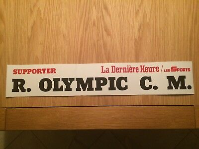 Autocollant Supporter R. Olympic C.m.
