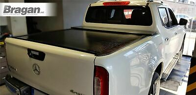 To Fit 2017+ Mercedes X-Class Sliding Retractable Rollback Tonneau Bed Cover 4x4