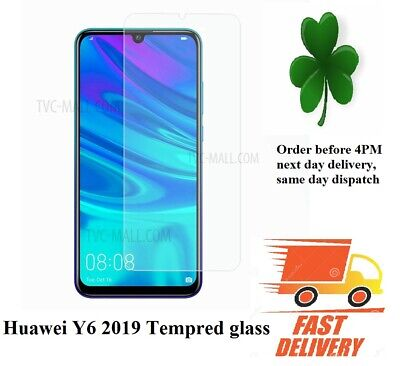 Huawei  Y6 2019 New Tempered Glass Mobile Phone Screen Protector cover