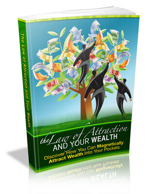 The Law of Attraction and Your Wealth PDF MRR +10 Free Ebooks