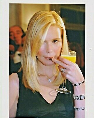 Claudia SCHIFFER Photo Presse Originale BULGARI STORE NAPOLI