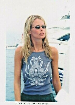 Claudia SCHIFFER Photo Presse Originale IBIZA
