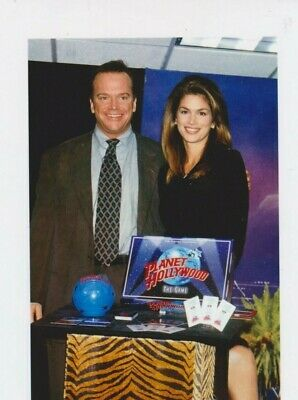 Cindy CRAWFORD Photo Presse Originale PLANET HOLLYWOOD NEW YORK CITY 1997