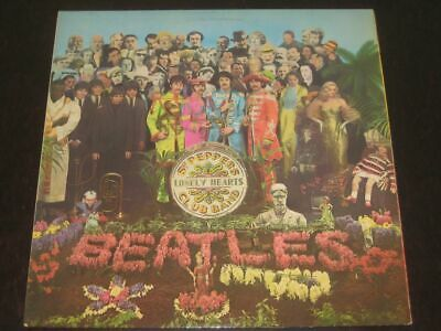 The Beatles rare '67 UK press LP Sgt. Pepper's lonely.. Parlophone YEX 2/2  EX+
