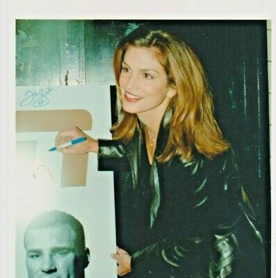 Cindy CRAWFORD Photo Presse Originale PARTY BOARD NEW YORK  1998