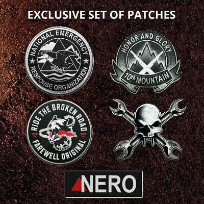 Days Gone PS4 Patches Pax East SONY OFFICIAL Exclusive Rare IN STOCK Free UK P&P
