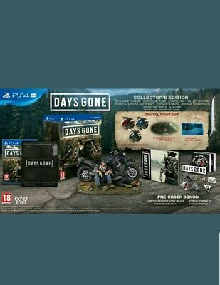 Days Gone Collector's Edition PS4 Exclusive Rare Limited - Pre Order BRAND NEW