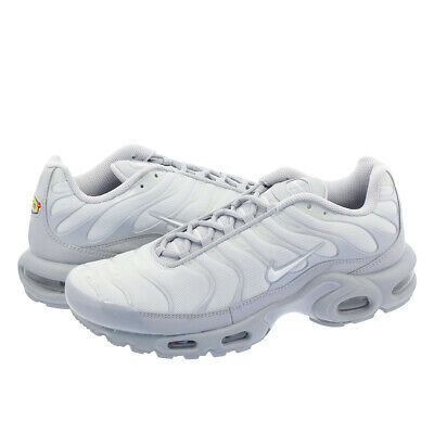 acad6f6225 NEW Nike Air Max Plus Shoes Platinum Gray White 852630-029 US 13 EU 47