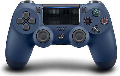 Genuine Sony DualShock 4 (3002840) PS4 Wireless Controller - Midnight Blue