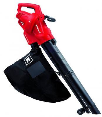 Einhell GC-EL 2500 E 2500 W Electric Leaf Blower Vacuum Variable Speed 40L Bag
