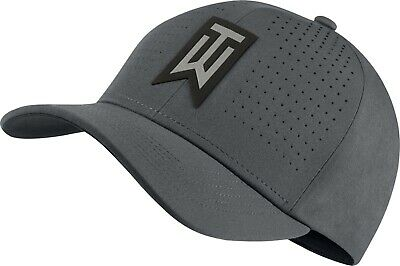 65f48d67 NIKE TW TIGER Woods Aerobill Classic 99 Fitted Golf Hat Wolf Grey L ...