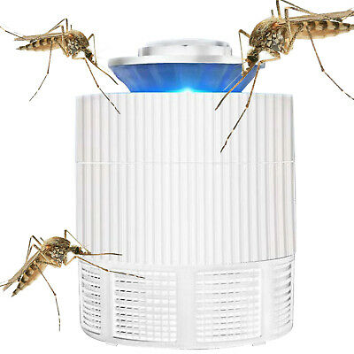 PracticaL Electric Mosquito Killer Zapper LED Light Lamp Fly Insect Bug Trap UV