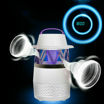 PracticaL Electric Insect Killer Mosquito Zapper LED UV Light Lamp Fly Trap UK