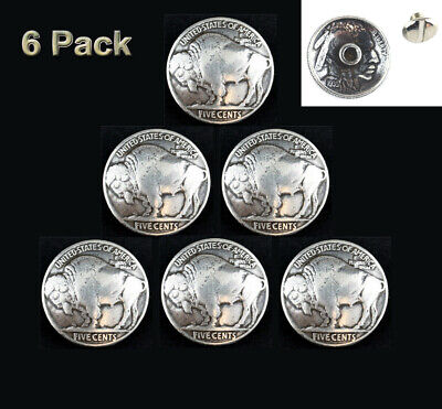 """4 Real Coin Dateless /""""INDIAN /& Buffalo/""""  Nickles SNAPS 2 /& 2"""