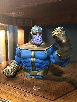 Thanos Bust - Display Figure / Coin Bank - Marvel Avengers Infinity War End Game