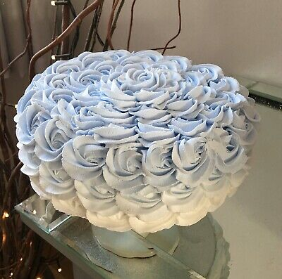 Fake Faux Artificial Any Colour Ombré Rosette Cake Prop, Displays.