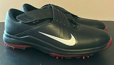 online store 8ae75 ab772 Nike TW 17 Tiger Woods Golf Shoes Black Red 880955-001 - Men s 10 -