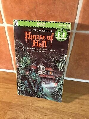House of Hell by Steve Jackson, Ian Livingstone (Paperback, 1984) 1ST EDITION