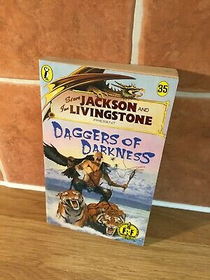 Daggers Of Darkness By Steve Jackson And Ian Livingston 1st Edition