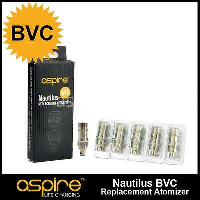 10 resistances Nautilus Aspire BVC - 0.7ohm/1.6ohm/1.8ohm Authentique avec code
