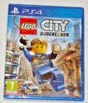 Sony Playstation Ps4 Game Lego City Undercover Pal 7 Sealed Wb Games Join The Ch