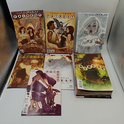 Fairest #1 to 33 Complete Vertigo Comics Lot VF/NM