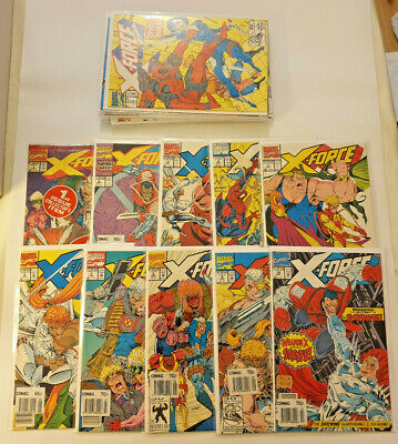 X-Force #1 to 18 + Annual Marvel Comics Lot 2nd Deadpool 1st Domino NM-