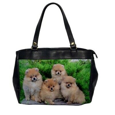 Personalised Shopping Bag POMERANIAN DOG Canvas Grocery Tote Gift DT28