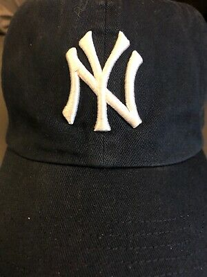 dc248e725ec51 New York Yankees 47 Brand Clean Up Adjustable On Field Cotton Blue Hat Cap  MLB