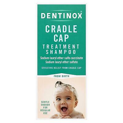 NEW Dentinox cradle cap treatment shampoo gentle baby frm birth free 125ml