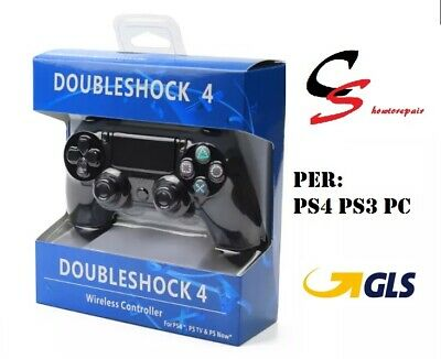 CONTROLLER PS4 PS3 PC DUALSHOCK 4 Wireless Controll NERO -PLAYSTATION 4 V2 NUOVO