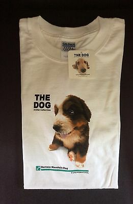 BERNESE MOUNTAIN DOG L T-SHIRT The Dog White Adult Large Short-sleeve NEW w/TAGS