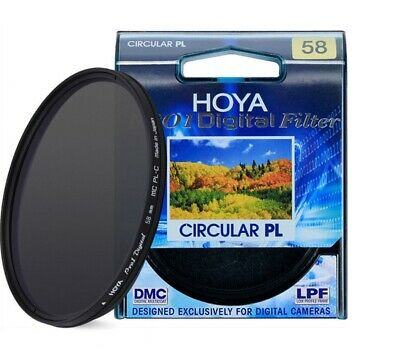 HOYA Pro1 Digital CPL CIRCULAR Polarizer 58mm Camera Lens Filter for SLR Camera