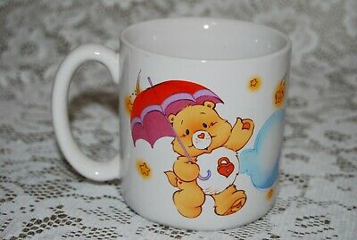 Vintage 1985 American Greetings CARE BEAR~FILL YOUR DAY WITH STARSHINE!  Mug