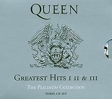 The Platinum Collection: Greatest Hits I, II & III von Queen | CD | Zustand gut