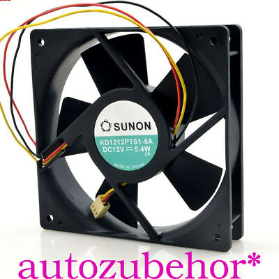 For SUNON KD1212PTS1-6A Chassis Cooling fan DC12V 5.4W 120*120*25MM 3pin