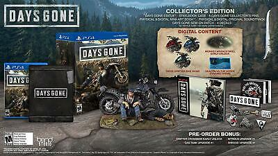 NEW Days Gone Collector's Edition (for Sony PlayStation 4/PS4) FACTORY SEALED!