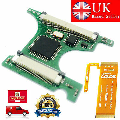 BACKLIGHT LCD GBC Flex Cable GBASP AGS-101 Backlight Mod Adaptor Protection  UK