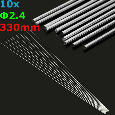 10/20/50pcs 2.4mm Aluminum Alloy Silver TIG Filler Rods Welding Brazing Wire