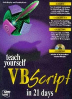 Sams Teach Yourself Visual Basic Script in 21 Days,Keith Brophy, Tim Koets