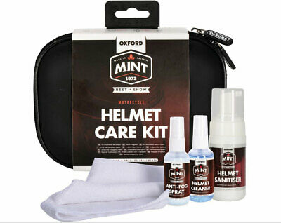 Oxford Mint Helmpflege Set