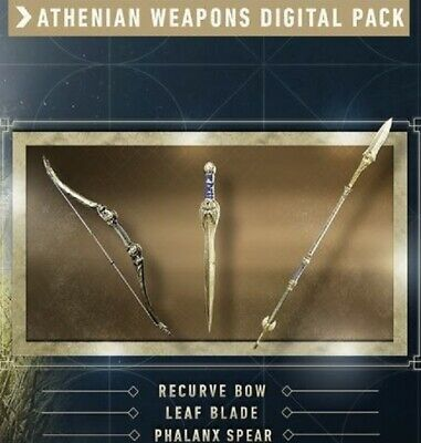 Assassin's Creed Odyssey PS4 XBOX ONE Athenian Weapons Digital Pack DLC