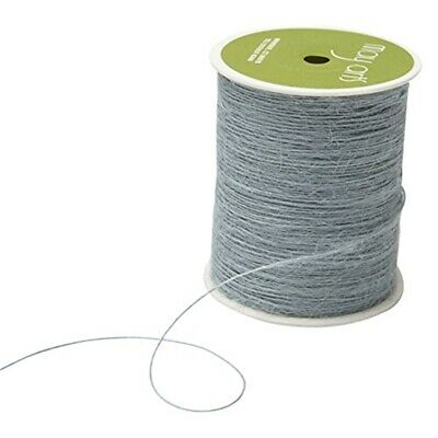 May Arts Burlap String 1mmx400yd-light Blue