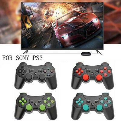 Wireless Bluetooth Remote Control Game Controller Gamepad Joystick For Sony PS3