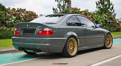BMW E46 M3 styl CSL REAR BOOT SPOILER COUPE