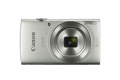 Canon IXUS 175 Compact Camera with 2.7 inch LCD Screen - Silver   UK STOCK