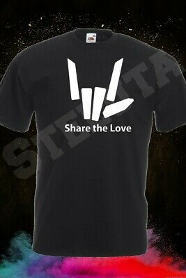 Share The Love Logo 2 T-shirt, Cotton,100% Cotton, Men's, Women, Kids