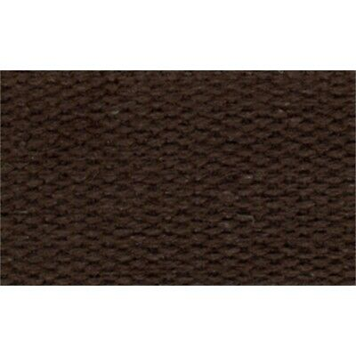 "Products From Abroad 100% Cotton Webbing 1""x22yd-brown"