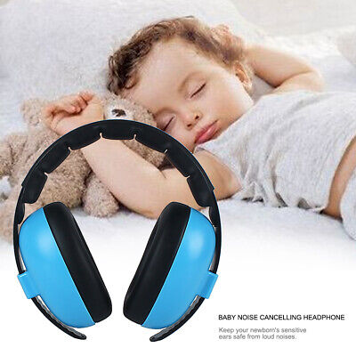 Baby Noise Reduction Headphones Kids Ear Muffs Loud Cancelling Hearing Safety x1